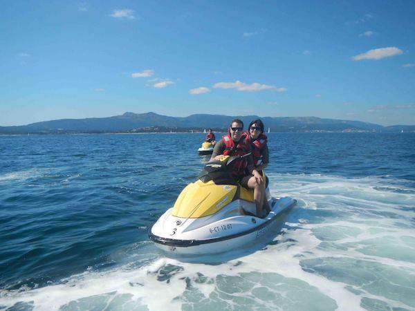 alquiler motos de agua sanxenxo