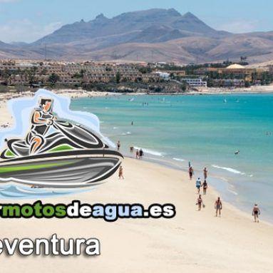 Alquiler motos de agua en Fuerteventura.