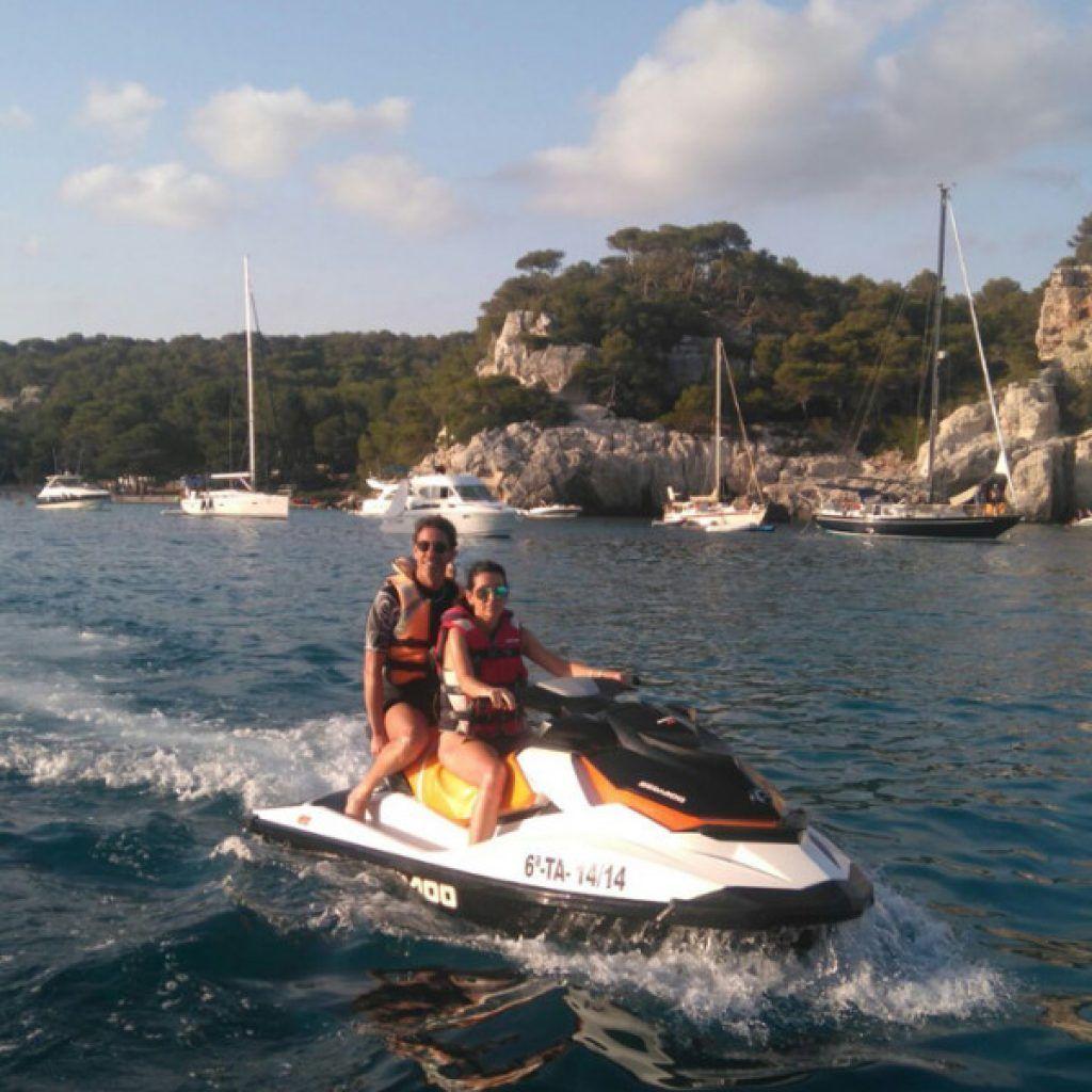 Alquiler Moto de Agua en Menorca