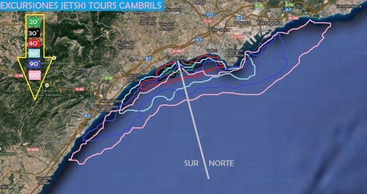 Excursiones Motos de Agua en Tarragona