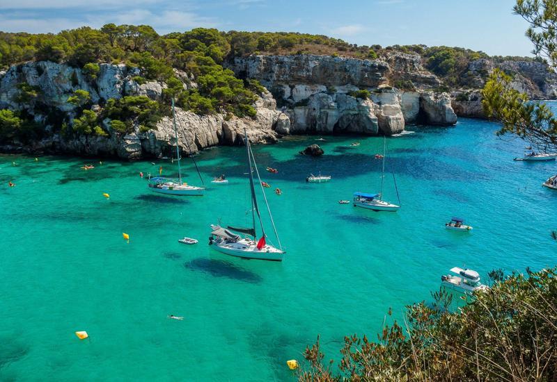 mejores rutas en kayak por Menorca