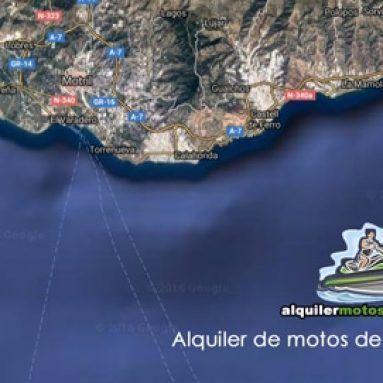 Alquiler de motos de agua en Granada.