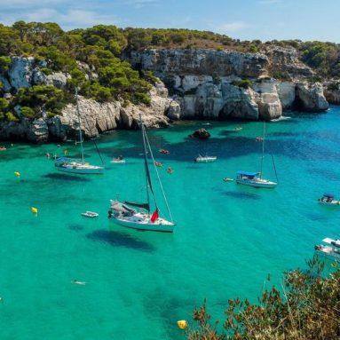 Las mejores rutas en kayak por Menorca