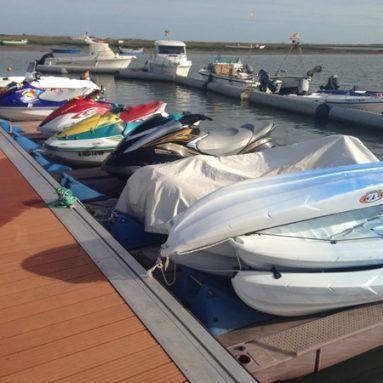 Alquiler de motos de agua en Huelva.